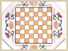 Indian Marble Chess Board
